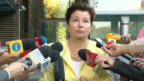 H. Gronkiewicz-Waltz wskazała winnych afery związanej z warszawskimi gruntami