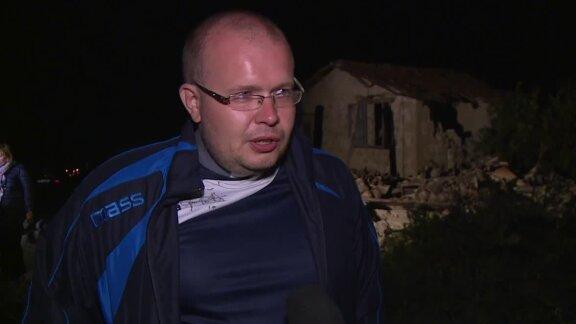 Polski ksiądz czekał kilka godzin pod gruzami na pomoc włoskich ratowników