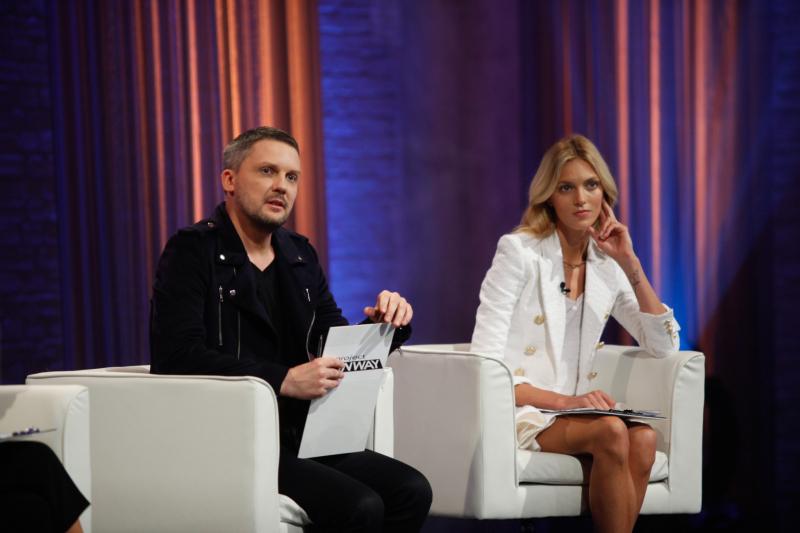 Mariusz Przybylski i Anja Rubik