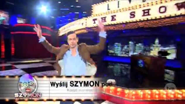 """Wygraj zaproszenie i zasiądź na widowni programu """"Szymon na żywo""""!"""