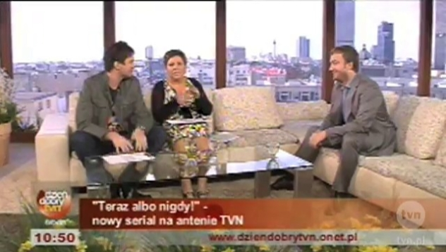 Bartek Kasprzykowski w DDTVN