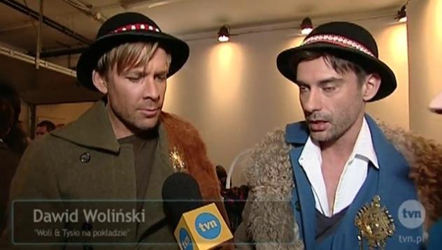 Dawid i Marcin lekko zalatujący owczym serem....