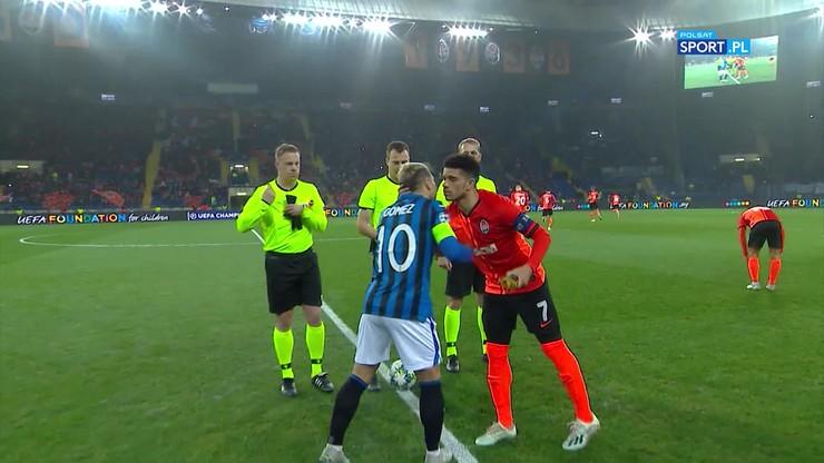 Szachtar Donieck - Atalanta Bergamo 0:3. Skrót meczu