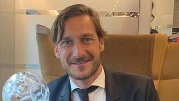 Francesco Totti. Były piłkarz spotkał się z 19-latką, której pomógł wybudzić się ze śpiączki