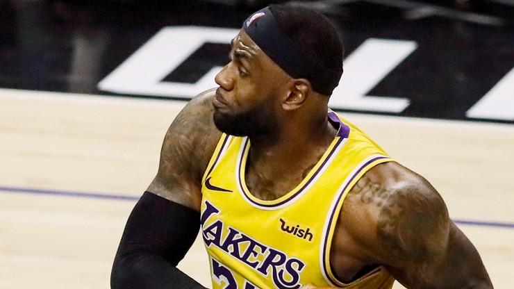 NBA: Lakers objęli prowadzenie w Konferencji Zachodniej