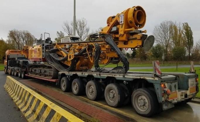 Zamiast dopuszczalnego nacisku 40 ton ważona ciężarówka miała 51,36 tony