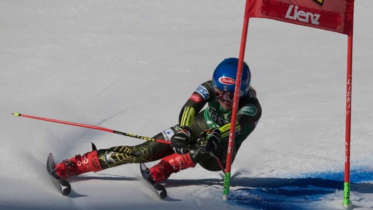 Alpejski PŚ: Shiffrin bezkonkurencyjna w slalomie gigancie w Lienz