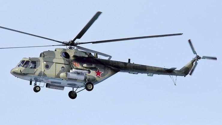 Wypadek śmigłowca Mi-8. Zginęły cztery osoby