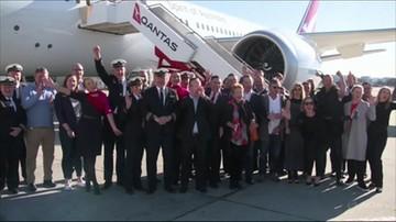 Rekordowy lot z Nowego Jorku do Sydney