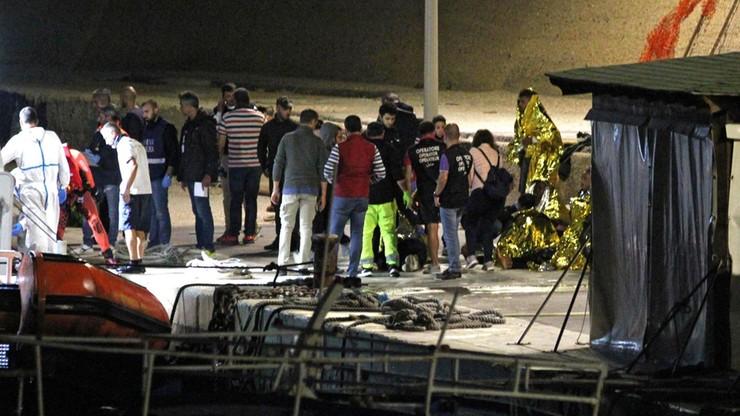 Katastrofa łodzi z migrantami we Włoszech. Co najmniej 20 osób nie żyje