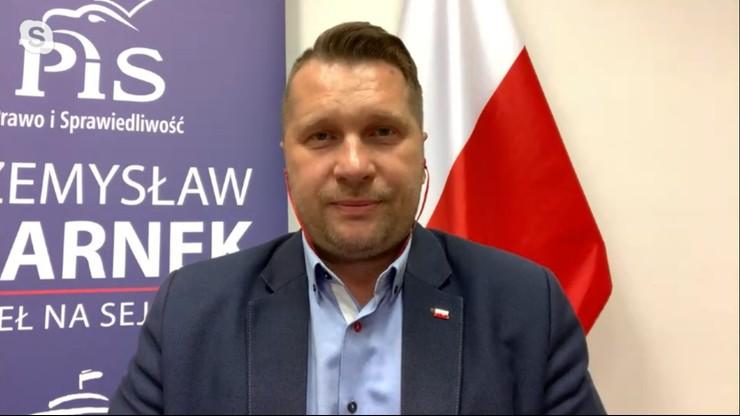 Czarnek: ruch Trzaskowskiego utonął w Wiśle razem z fekaliami
