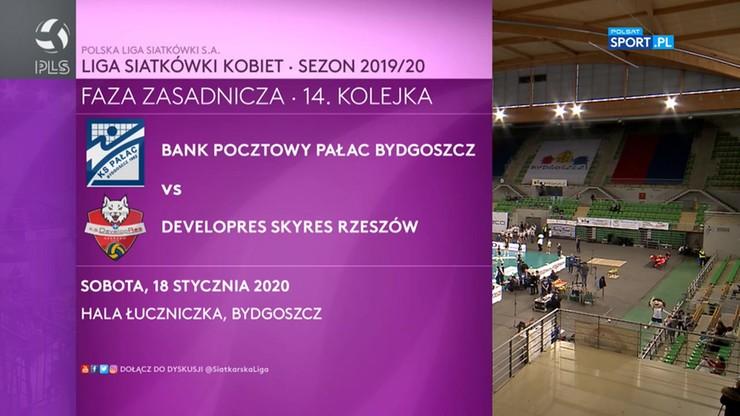 Bank Pocztowy Pałac Bydgoszcz - Developres SkyRes Rzeszów 2:3. Skrót meczu