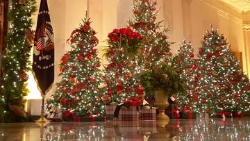 Biały Dom gotowy na Boże Narodzenie. Pierwsza dama pokazała wystrój siedziby prezydenta USA