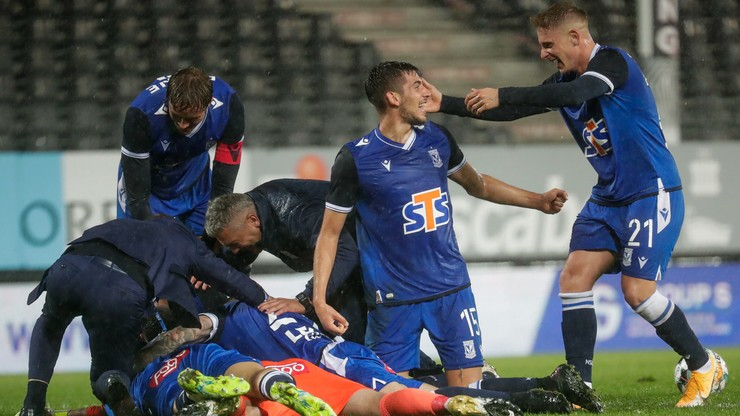 Liga Europy: Royal Charleroi - Lech Poznań 1:2. Skrót meczu
