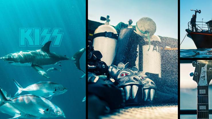 """""""Rekiny przyciąga Rock'n'Roll"""". Kiss zagra podwodny koncert dla żarłaczy białych"""