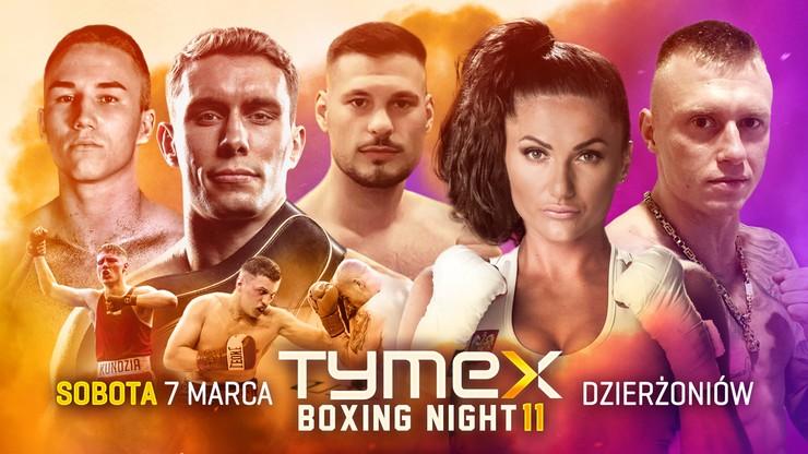 Tymex Boxing Night 11: Brodnicka - Gontaruk. Karta walk