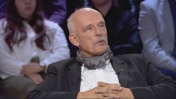 Emocje w studio PN. Rymanowski do Korwin-Mikkego: Pan nie jest w stanie mnie obrazić