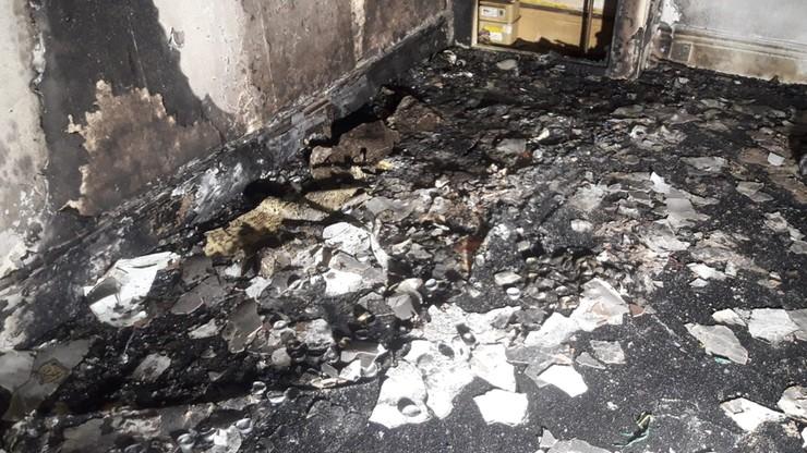 Zakochany spalił mieszkanie, potem oświadczył się na zgliszczach [ZDJĘCIA]
