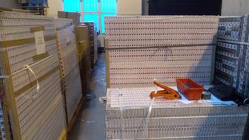 KAS zatrzymała przemyt papierosów wartych ponad 6 mln zł