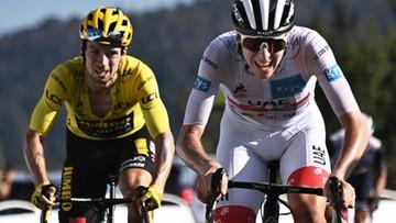 Tour de France: Tadej Pogacar wygrał na Grand Colombier. Primoz Roglic liderem