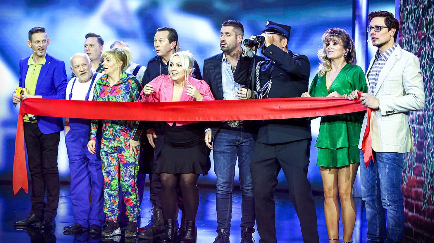 """""""Kabaret na żywo. Przystanek Radość"""" na nowej drodze"""