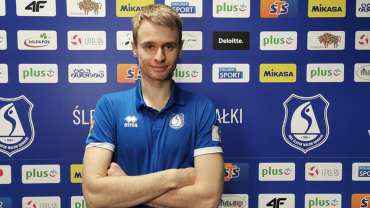 Kolejny siatkarz przedłużył umowę z MKS Ślepsk Malow Suwałki