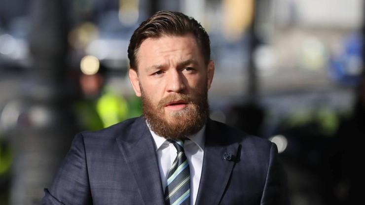Conor McGregor zaskoczony. Kontrola antydopingowa na jachcie Irlandczyka