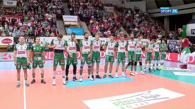 2019-11-08 Biało-czerwona Urania przed meczem PlusLigi