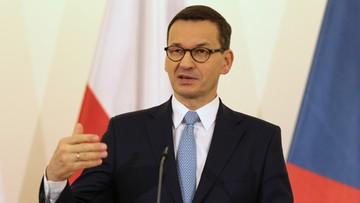 Morawiecki: nie byłoby upadku komunizmu w Europie, gdyby nie wydarzenia w Polsce