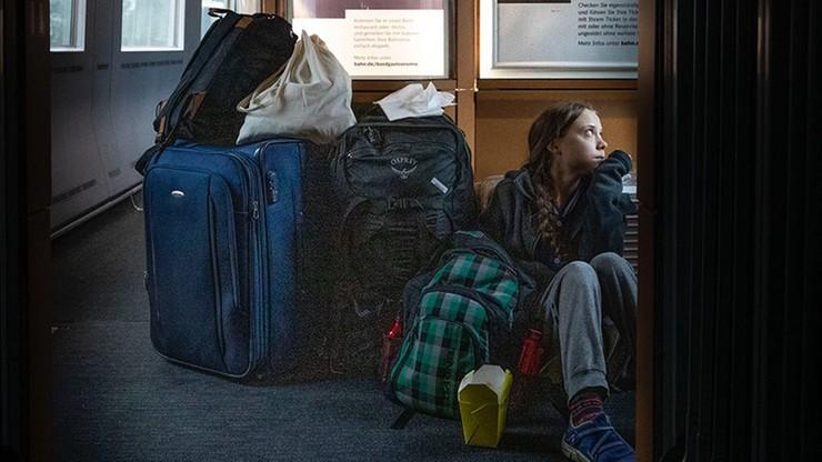 Greta Thunberg opublikowała zdjęcie z podróży pociągiem. Przewoźnik wytknął jej pewną nieścisłość
