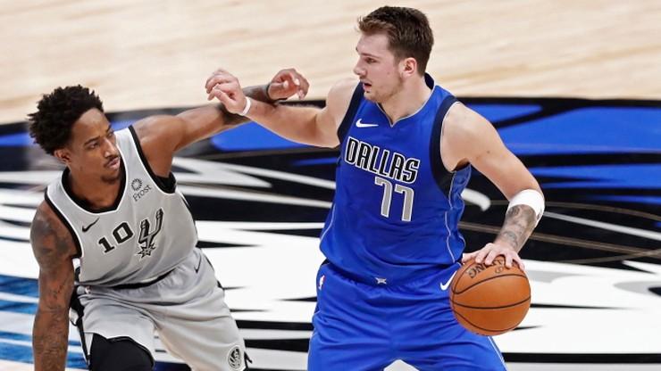 NBA: Doncic podbija serca kibiców. Kolejny rekord młokosa ze Słowenii