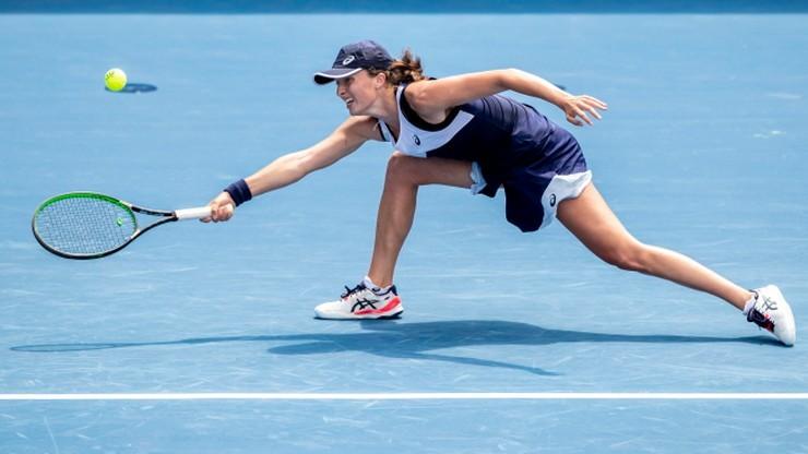 Iga Świątek pokonała Karolinę Pliskovą w towarzyskim turnieju w Pradze