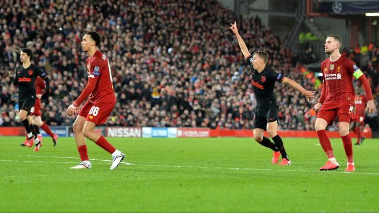 Llorente uciszył Anfield! Atletico wyrzuciło Liverpool z Ligi Mistrzów