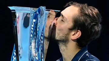 Daniił Miedwiediew zwyciężył w turnieju ATP Finals
