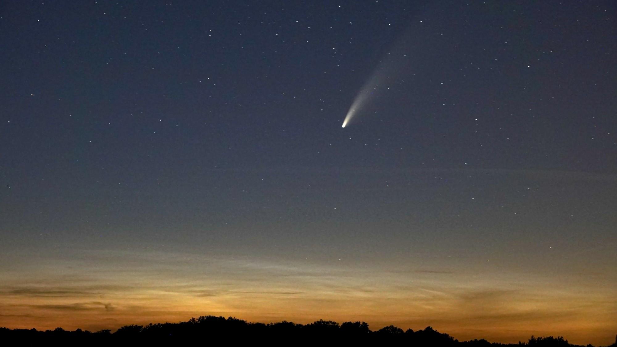 Kometa NEOWISE - zdjęcie 3