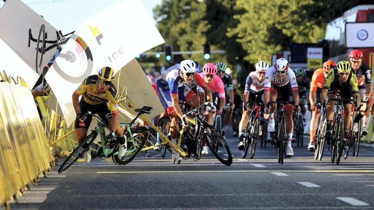 Wypadek na Tour de Pologne. Kolarz Fabio Jakobsen po operacji