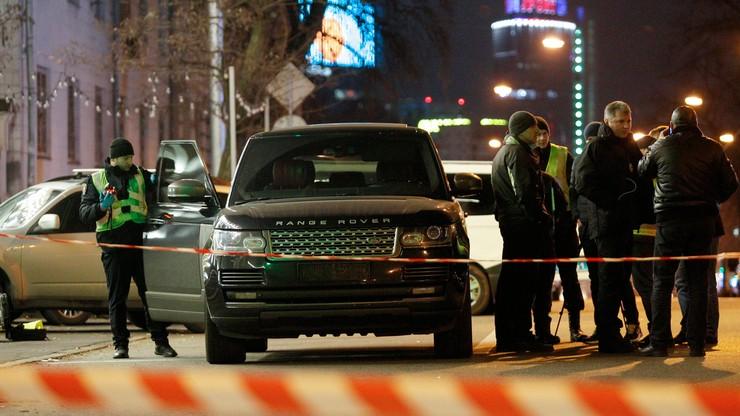 Ostrzelano samochód kijowskiego radnego. Zginął jego 3-letni syn