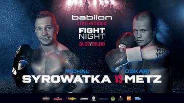 Babilon Fight Night: Wyniki ważenia