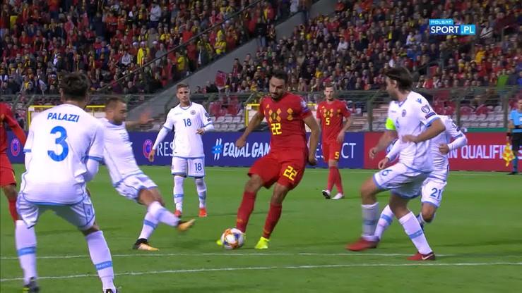 Belgia - San Marino 9:0. Skrót meczu