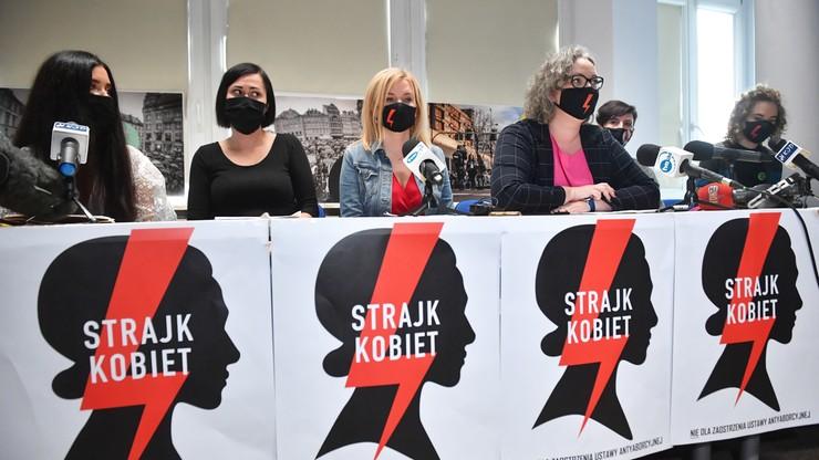 Konferencja Strajku Kobiet. Chcą dymisji Ziobry i Czarnka