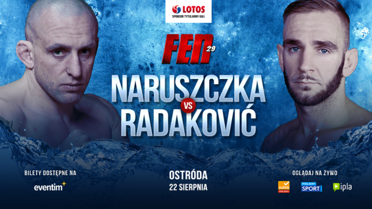 FEN 29: Marcin Naruszczka poznał rywala! To pogromca Roberto Soldicia