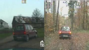 """Pościg za """"terenowym tico"""". Kierowca był pijany, wiózł ciężarną i dziecko"""