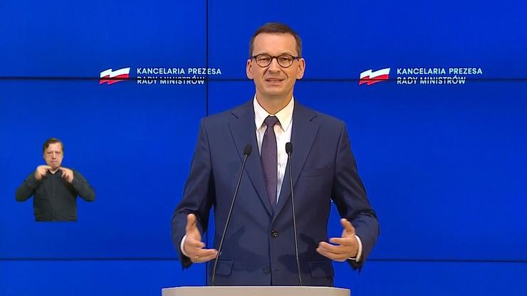Morawiecki po unijnym szczycie: 700 mld złotych na ratunek gospodarki