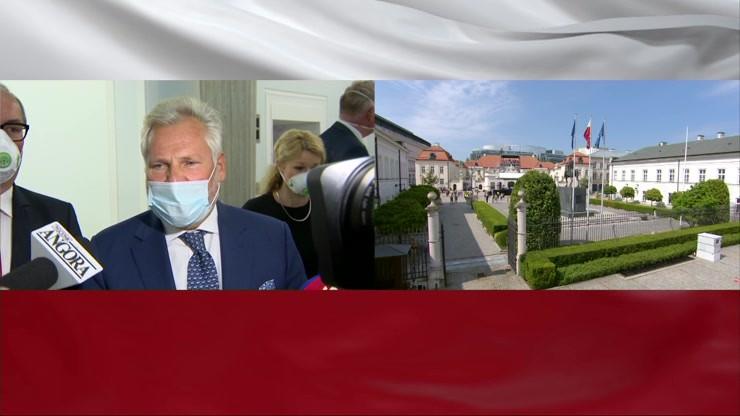 """Jeden były prezydent na zaprzysiężeniu Andrzeja Dudy. """"Jestem tu z szacunku"""""""