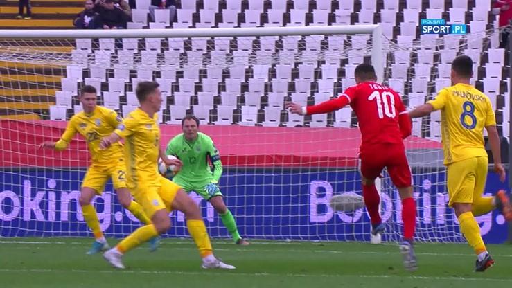 Serbia - Ukraina 2:2. Skrót meczu
