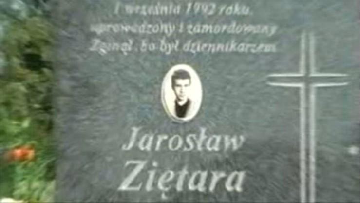 """Sprawa Jarosława Ziętary. """"Tajemnicze napisy"""" na murze jednej z posesji"""