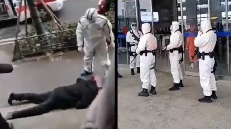 """Koronawirus z Wuhan - przerażające nagrania. """"Ludzie mdleją na ulicach"""""""