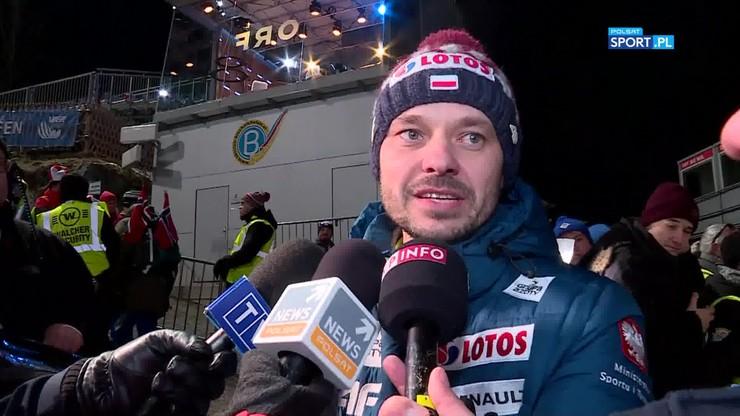 Trener polskich skoczków: Jeśli wygrywasz Turniej Czterech Skoczni, stajesz się legendą