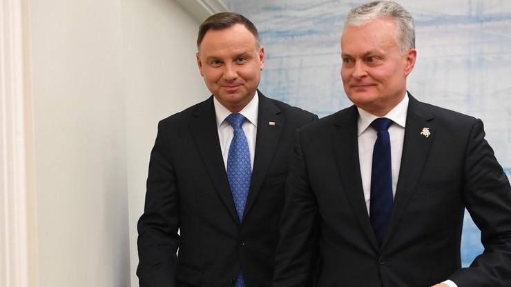 Duda: relacje Polski i Litwy są tak dobre, jak nie były od dawna