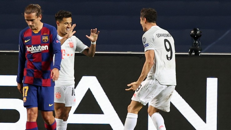 Liga Mistrzów: FC Barcelona - Bayern Monachium 2:8. Skrót meczu (WIDEO) - Polsat Sport